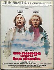 LE FILM FRANCAIS Cinématographie Française UN NUAGE ENTRE LES DENTS Noiret *