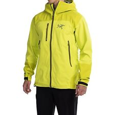 Arc'teryx Tantalus Ski Snowboard Gore-Tex Jacket - Venom Yellow - Men's Medium