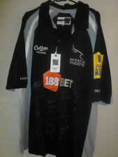 2010 Squad Signed Newcastle Falcons Rugby Union Shirt xl (31583)