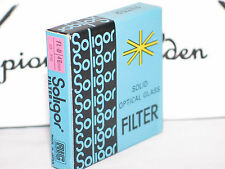 new SOLIGOR FL-D 46mm filter w/case in a box