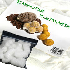 PVA Mesh RICARICA 35 METRI & White PVA Nuggets