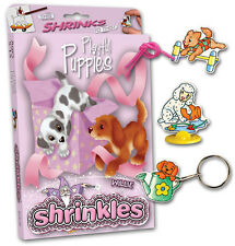 22 PLAYFUL PUPPIES EMBELLISHMENTS SHRINKLES SHRINKIE SHRINK ART BUMPER BOX  SET