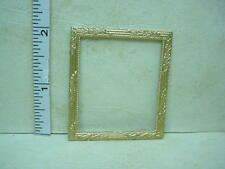 Dollhouse Miniature Picture Frame  - #36  Painted Metal 1/12 Scale
