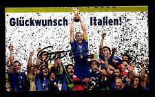 Gennaro Gattuso Italien Weltmeister 2006 Foto Original Signiert+G 15718