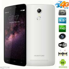 Homtom HT17 5,5 zoll 4G LTE Quad Core Handy Ohne Vertrag Android 6.0 Smartphone