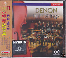 """Denon Hi-Fi Strings"" Master Music Stereo Hybrid SACD Audiophile CD New Sealed"