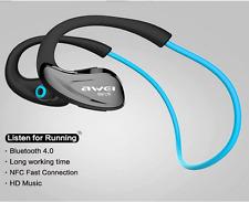 Awei Wireless Bluetooth Headsets MIC Sports Stereo Earhook Headphones Earphones