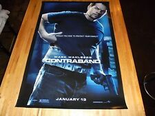 Contraband Double Sided Movie Poster 27 x 40  Mark Wahlberg