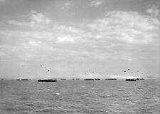 8x6 Gloss Photo ww73E Normandy D-Day Jb Juno Beach Courseulles Liberty Ships