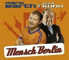 "MARIO BARTH & PAUL KUHN ""MENSCH BERLIN"" CD SINGLE NEU"