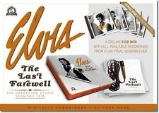 Elvis Presley The Last Farewell 5 CD /Book - LP Size Boxset - Last One's *******