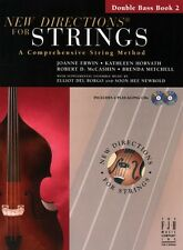 New Directions for Strings Bass Bk 2 & 2 CDs