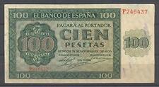 C.R BILLETE DE 100 PTS 1936 SERIE F EBC +