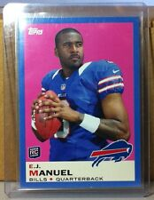 2013 TOPPS WAL MART BLUE #27 E.J. MANUEL BUFFALO BILLS ROOKIE CARD
