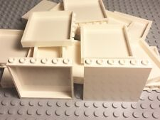 Lego X20 New Bulk Lot White Panel 1x6x5 Parts For Large City Building Projects