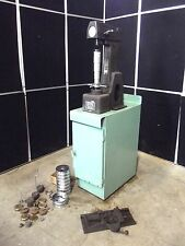 Rockwell Hardness Tester Model 4 OUR~With Weights & Cabinet ~ Moves Easily~S2571