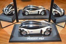Norev, concept-car Peugeot 4002 avec son socle, 1-43, excellent état