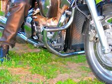 HONDA VTX 1300 VTX1300 RETRO / CUSTOM STAINLESS STEEL CRASH BAR GUARD WITH PEGS