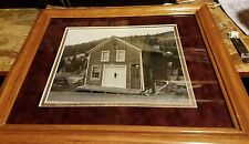 Original Photo Of City Hall Building In The Ghost Town of Nevadaville Colorado
