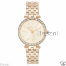 Michael Kors Original MK3365 Women's Darci Mini Gold Steel Bracelet Watch 33mm