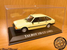 TALBOT 150 GT SOFT YELLOW 1982 1:43 MINT!!