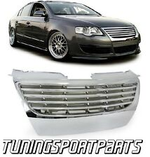 FRONT CHROME GRILL FOR VW PASSAT 3C B6 05-10 NO EMBLEM SPOILER BODY KIT