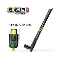 Ralink 5370 150M USB WiFi Wireless Adapter LAN Card + 5dBi Antenna IPTV Win MAC