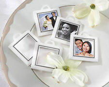 12 Capture the Moment Photo Frame Tag Wedding Bridal Shower Favor Tags