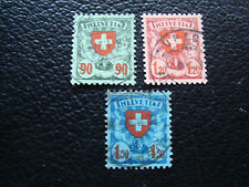SUISSE - timbre yvert et tellier n° 208 a 210 obl (A20) stamp switzerland