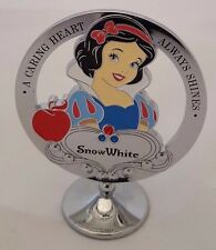 DISNEY SNOW WHITE ORNAMENT CHROME PLATED FREE STANDING BOXED DI272