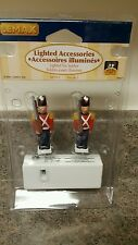 Lemax Lighted Accessories Lighted Toy Soldiers 2 Pack New 2007