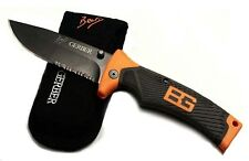 Gerber Bear Grylls Folding Knife No. 31-000752 + Nylon sheath, Serrated Edge