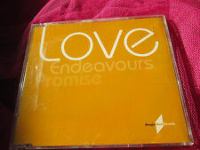 Promise ‎–Love Endeavours / What You Do To Me BBRCDRD17  + PR uk CD Single Promo