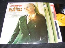 Scarce Country Western JANE MORGAN In Nashville LP RCA In Shrinkwrap 1970 Clean!