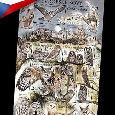 "Czech Republic (2015) -- Nature Protection ""Owls"" +++ Combined shipping"