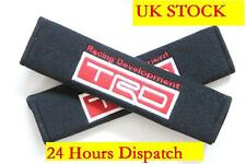 2 TRD seat belt cover IS200 COROLLA TOYOTA LEXUS MR2 CELICA AVENSIS