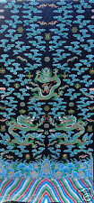 2 metres long chinese Dragon robe silk brocade fabric Chinoiserie decor !NEW!