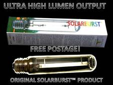 SOLARBURST ultra high lumen 600w growlight lampe ampoule hps floraison rouge spectre