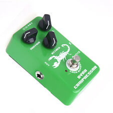 Attack Sustain Level Dynamic Compressor Guitar Effect Pedal Bypass JOYO JF-10