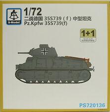 Pz.Kpfw.35 S 739(f) , 1/72, S-Model ,Doppelpack, Plastik, NEU,