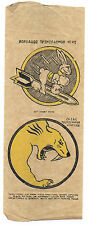 Two WWII Iron On Patches 59th Bombardment Squadron & 383rd Bombardment Squadron