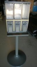 USED VENDSTAR 3000 3 BAY CANDY MACHINE - CLEANED - GOOD CONDITION - WITH KEYS