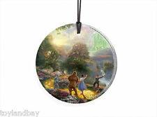 Thomas Kinkade The WIZARD OF OZ Hanging Glass Print Dorothy Emerald SPCIR364