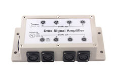 8 Channel Output DMX512 DMX Signal Amplifier  DMX LED Splitter Distributor