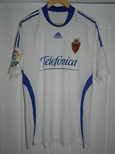 Camiseta 2009  2010 Real Zaragoza Formotion PLAYER ISSUE shirt Pennant 11 jersey
