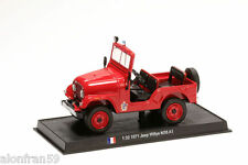 Fire Engine 1971 JEEP WILLYS M38 A1 1:32 Delprado Diecast - Feuerwehr CBO122