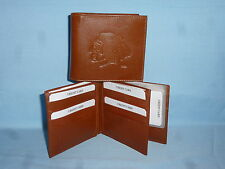 CHICAGO BLACKHAWKS   Leather BiFold Wallet    NEW    brown 4 +