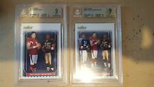 2006 Score #330 WHITE/ LEINART / BUSH and #328 Bush and Leinart BVG 9!!! (2)