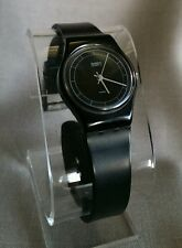 "Vintage Retro 1984 Quartz SWATCH Watch LB102 ""HIGH TECH"" Working - FREE SHIPPING"