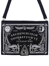 Bag Sac Restyle Ouija Board Gothic Gothique Moon Dark Witch Sorcery Lune Ankh